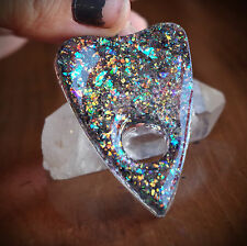 Faux Fire Opal Ouija Spirit Board Planchette Necklace Occult/Goth/Lolita/Wicca