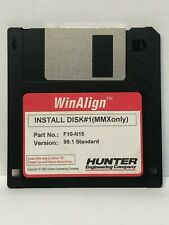 Hunter F10-N15 WinAlign Alignment Floppy Disk Software P-73