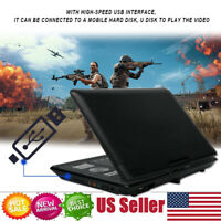 13.8 Inch Portable DVD Player 16:9 LCD FM Radio TV Video Player Card Reader