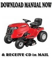 TROY-BILT PONY riding mower repair shop service manual on CD