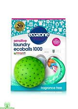 Ecozone Sensitive Laundry Ecoballs 1000 Washes Fragrance Free