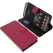 Custodia per Oukitel K6000 Pro book-style protettiva cellulare LIBRO ROSA