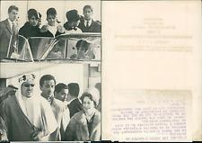 Le roi Séoud d'Arabie Vintage silver print  Tirage argentique  13