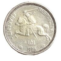 Lithuania Silver 1925 1 Litas (1 YEAR TYPE) KM# 76