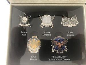 Limited Release Regimental Badges BNIB The Sabbat Worlds Crusade Black Library
