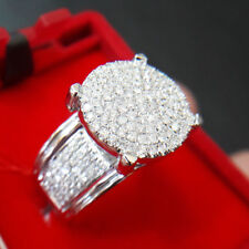 Wedding Bridal Ring White Gold Over 2.50 Ct Round Diamond Ladies Engagement