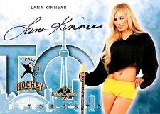 Lana Kinnear 2014 Bench Warmer Toronto Fall Expo Autograph Auto