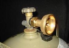 Adaptateur LPG GPL pour remplir gaz bouteille propane butane ANTI-RETOUR 22 NAT