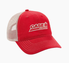 Case IH Chino Mesh Back Red/Khaki Men's Cap