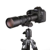 500mm f/8.0 Telephoto Lens +T2 Mount for Nikon D600 D300S D800E D800 D700 Camera