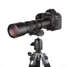 500mm f/8.0-f32 Telephoto Mirror Lens for Canon 7D 70D 600D 550D 750D + T2 MOUNT