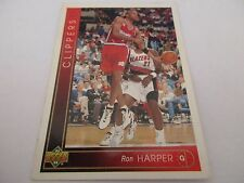 Carte NBA UPPER DECK 1993-94 FR #35 Ron Harper Los Angeles Clippers