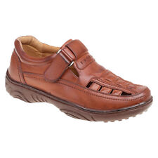 Sandals Mens Closed Toe Shoe Summer Lightweight Comfortable Brown Hot Fashion