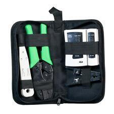 Profi Netzwerk Werkzeug-Set Hirose 4-teilig mit Tasche  ECOLAN® 39918.1