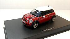 1/43 Autoart, Mini cooper S (Red)