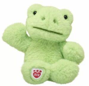 Build A Bear Plush Buddies Spring Green Frog 2021 W Certificate