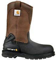 "Carhartt CMP1259 Men's 11"" Insulated Steel Toe Wellington Boots Warm Work Shoes"