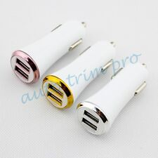 Universal Dual USB Port Car Socket Cigarette Charge Lighter Adapter Accessories