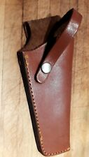 Western Style EIG QD-Scout Brown Leather Colt/Ruger Revolver Pistol Belt Holster