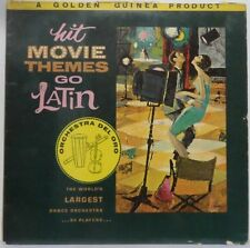 Orchestra Del Oro - Movie Themes Go Latin LP Easy Listening Golden Guinea 1962