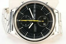 Rare Vintage Seiko 6138-3002 Jumbo Day Date Chronograph Automatic S.Steel Watch