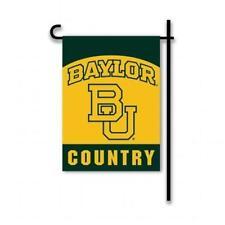 """Baylor Bears Flag Banner 2 Sided 13""""x 18""""  Window Flag Ncaa"""