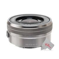 Sony 16-50mm f/3.5-5.6 OSS Alpha E-mount Retractable Lens (Silver) SELP1650
