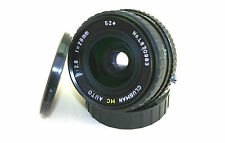 OLYMPUS OM FIT CLUBMAN MC AUTO 1:2.8 F=28MM WIDE ANGLE LENS.