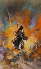 Authentic Frank Frazetta Print #6 Death Dealer 15 X 24 #137