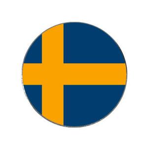 Sweden Flag Golf Ball Marker