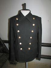 Soviet russian navy naval winter uniform wool jacket pea coat BUSHLAT size 48-3