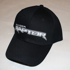 Ford Ranger Raptor Logo Mens Black Embroidered Cap Hat One Size