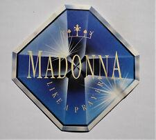 Aufkleber MADONNA  Like a Prayer 1989 Pop Music Sticker 80er 80s