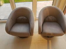 2 fauteuils tournants