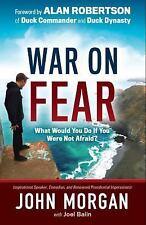 War on Fear by John Morgan Hardcover Book