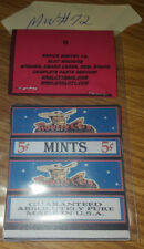 REPO MINT WRAPPERS ANTIQUE SLOT MACHINE PIONEER CLUB BLUE 5c Mints 10 PCK MW#72