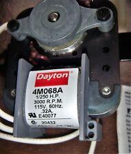 Dayton 1/250 HP C-Frame Motor, Shaded Pole, 3000 Nameplate RPM, 115 Voltage,