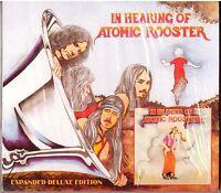 ATOMIC ROOSTER In Hearing Of CD Deluxe ed w/3 Bonus Tracks—in Slipcase in shrink