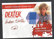 DEXTER SEASON 7 & 8 Breygent AUTOGRAPH COSTUME CARD #CA1 JADON WELLS