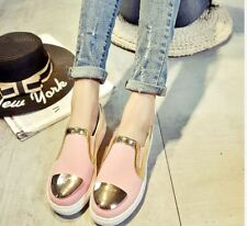 Rave AW0146 Fashion Sneakers Women's Shoes Casual Slip-On -  (PINK) SIZE 38