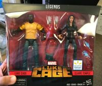 Marvel Legends MCU Netflix Luke Cage Claire Temple 2 Pack New Sealed In Hand
