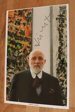 ORIGINAL Autogramm von Markus Lüpertz. pers. gesammelt 100 % ECHT. 20x30 FOTO