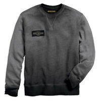 Harley-Davidson Men's Crew Neck Pullover Slim Fit Sweatshirt 99022-18VM