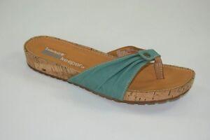 Timberland Estela Cork Thong Sandal Zehentrenner Pantoletten Damen Schuhe 24689