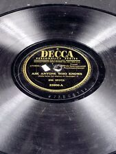 Decca 23900 Ink Spots ASK ANYONE WHO KNOWS LOOK ME IN THE EYES 78 V