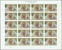 Mark Twain Sheet of Twenty Forever Stamps Scott 4545