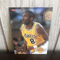 1996-1997 Skybox NBA Hoops Los Angeles Lakers Kobe Bryant RC Rookie Card #281!!!