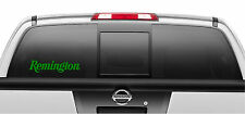 Remington Firearms Gun Decal Sticker Auto Truck Window Vinyl Decal Stickers 2x9