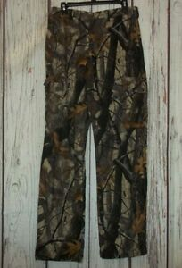 WOOLRICH OUTDOOR GUIDE COLLECTION MENS CAMO HUNTING PANTS SIZE 32 (32 x 32)
