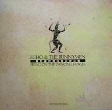 "ECHO & THE BUNNYMEN - BRING ON THE DANCING HORSES  - 12"" SINGLE 45 RPM"